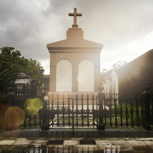 Piecing together stories of what has been Lafayette Cemetery neworleanshellip